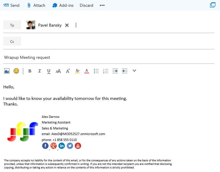 email signature tool