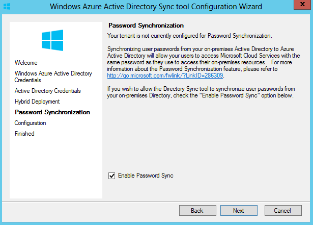 Azure Active Directory Synchronization