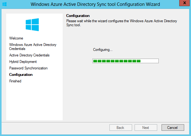 How to configure azure ad sync