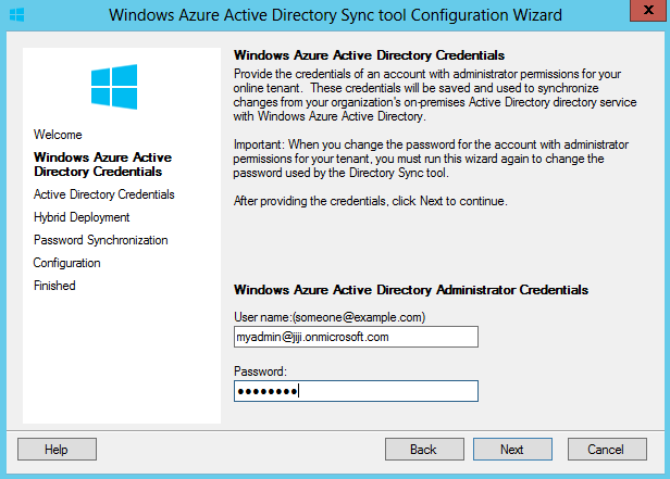 Sync Active Directory
