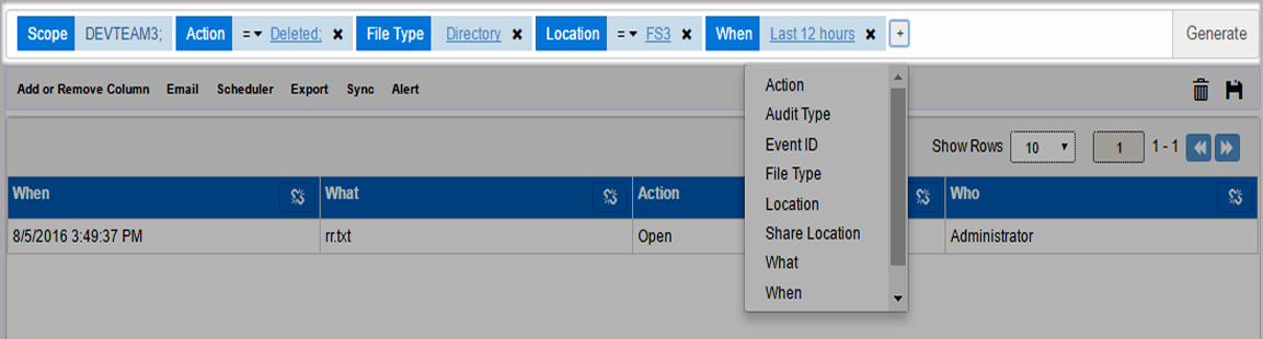 AD File Server Auditing Tool