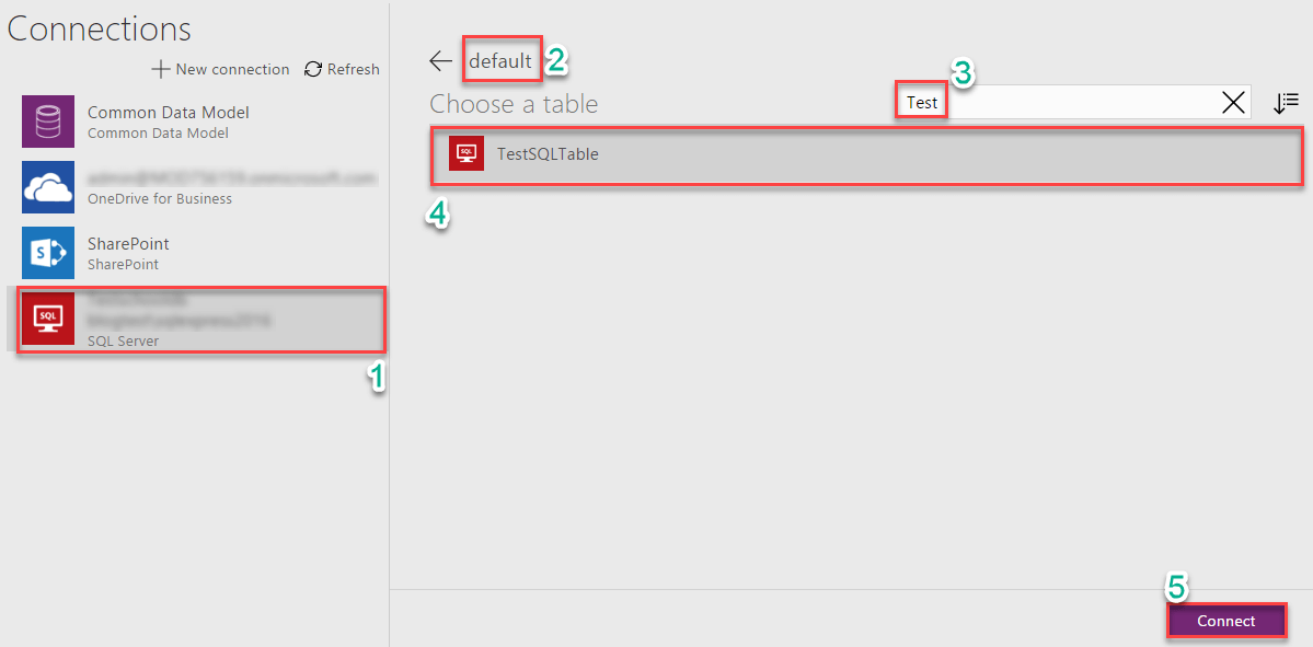 Connect on premise data to PowerApps/Flow/PowerBI using 'On-premises