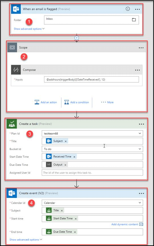 How to integrate Microsoft Planner with Outlook using