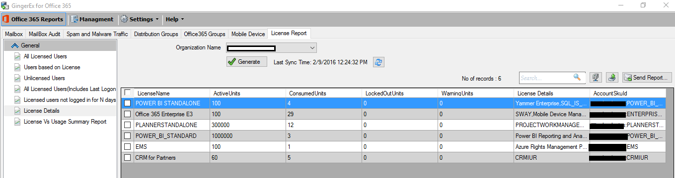 Office 365 License reports made easy using Office 365
