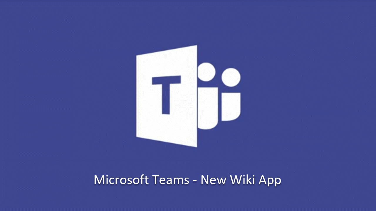 how to use microsoft teams wiki