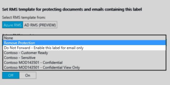 New features in Azure Information Protection Public Preview
