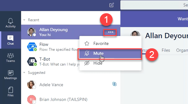 Microsoft Teams new features - February 2018