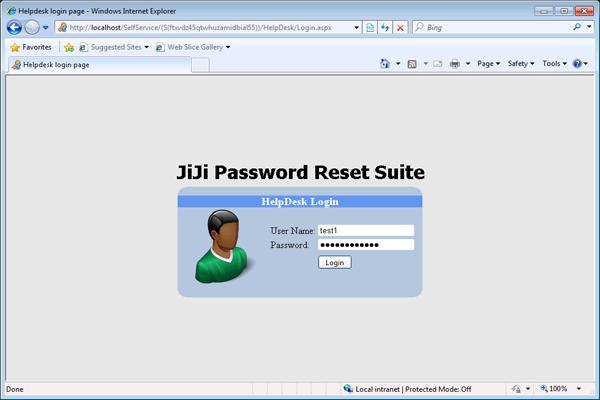 Unlock User Account